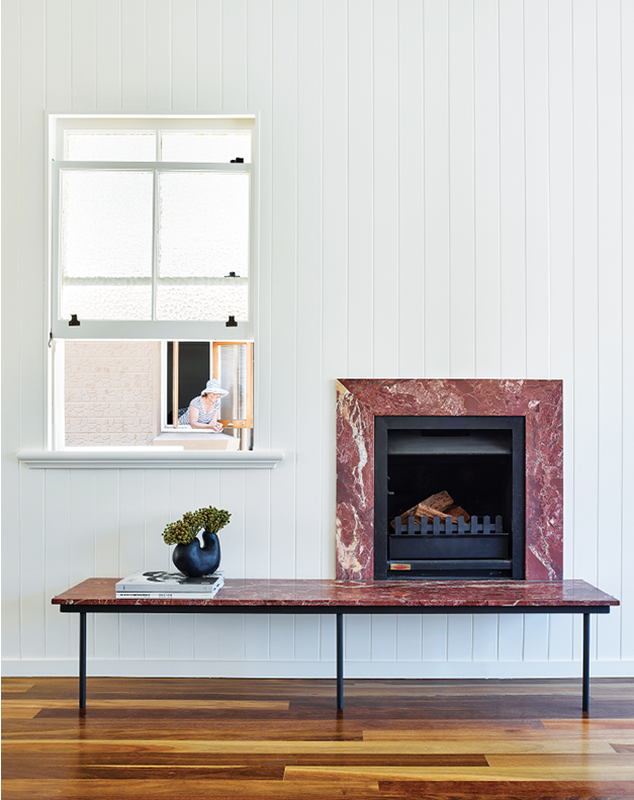 Against refreshed white wall panelling, more luxurious materials were chosen to meld special moments into daily life.