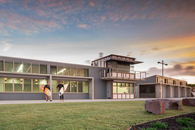 Birubi Point Surf Life Saving Club by EJE Architecture.