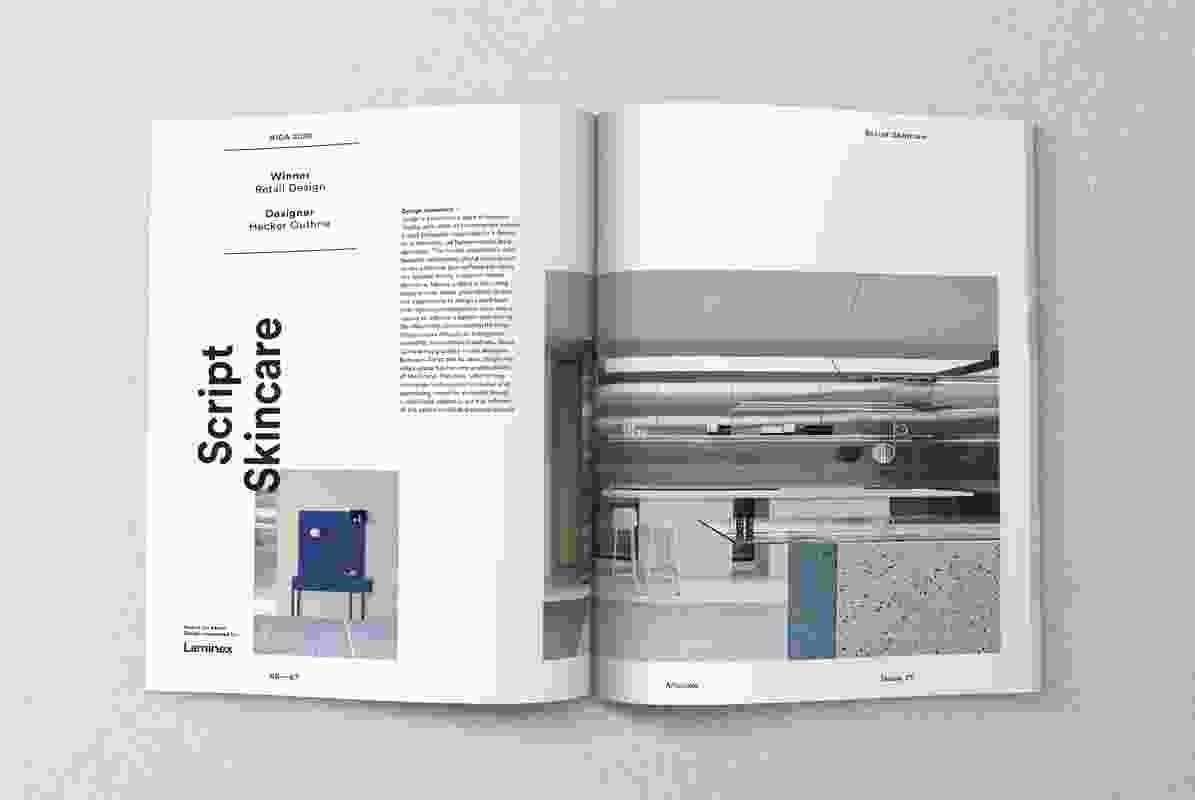 Inside Artichoke issue 71.