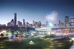 Cox Architecture's Rod Laver Arena redevelopment designs revealed