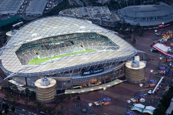The Sydney Olympic Stadium by Populous and Bligh Lobb Sports Architecture will be refurbished.