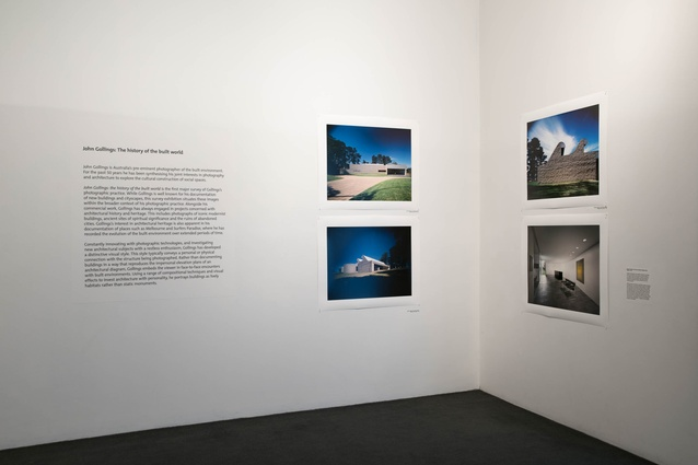 <i>John Gollings: The history of the built world</i> at Monash Art Gallery.