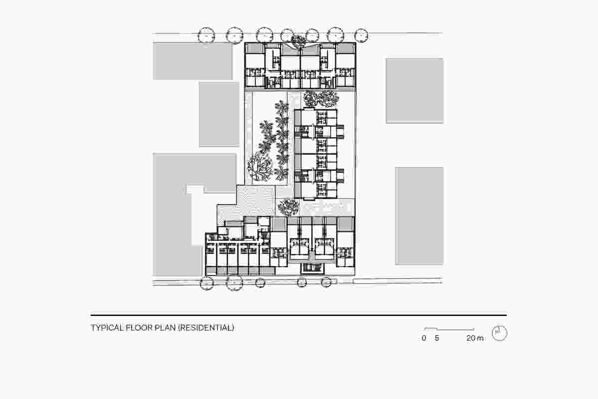 Casba typical floor plan