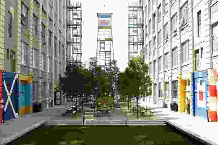 Industry City – Courtyard 5/6 by Terrain.