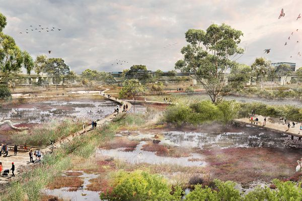 Moonee Ponds Creek Strategic Opportunities Plan by McGregor Coxall won the Award of Excellence for Landscape Planning at the 2019 National Landscape Architecture Awards.