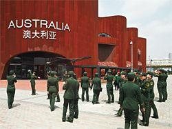 Australian Pavilion, Expo 2010, Shanghai, by Wood Marsh. Photograph Peter Bennetts.