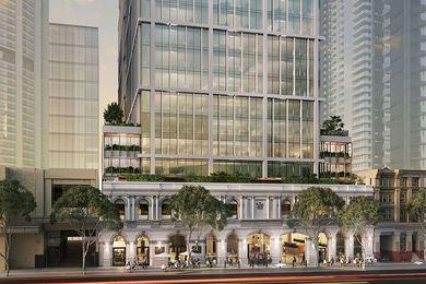 Fender Katsalidis-designed transformation of aging Brisbane office towers approved