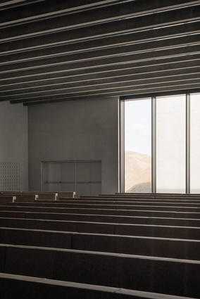 Crematorium Siesegem by KAAN Architecten.