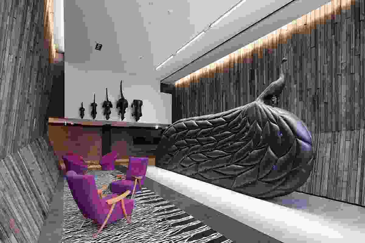 New Acton South Tower Art Program by Fender Katsalidis Architects in association.