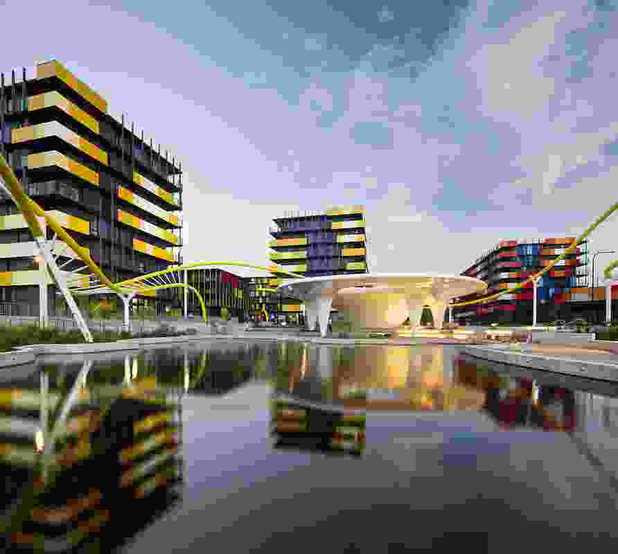 Parklands by AAA (Archipelago, Arkhefield, ARM Architecture) with Lat27 won the Excellence in Urban Design Award and Helen Josephson Award for Urban Design Leadership at the Gold Coast Urban Design Awards 2017.