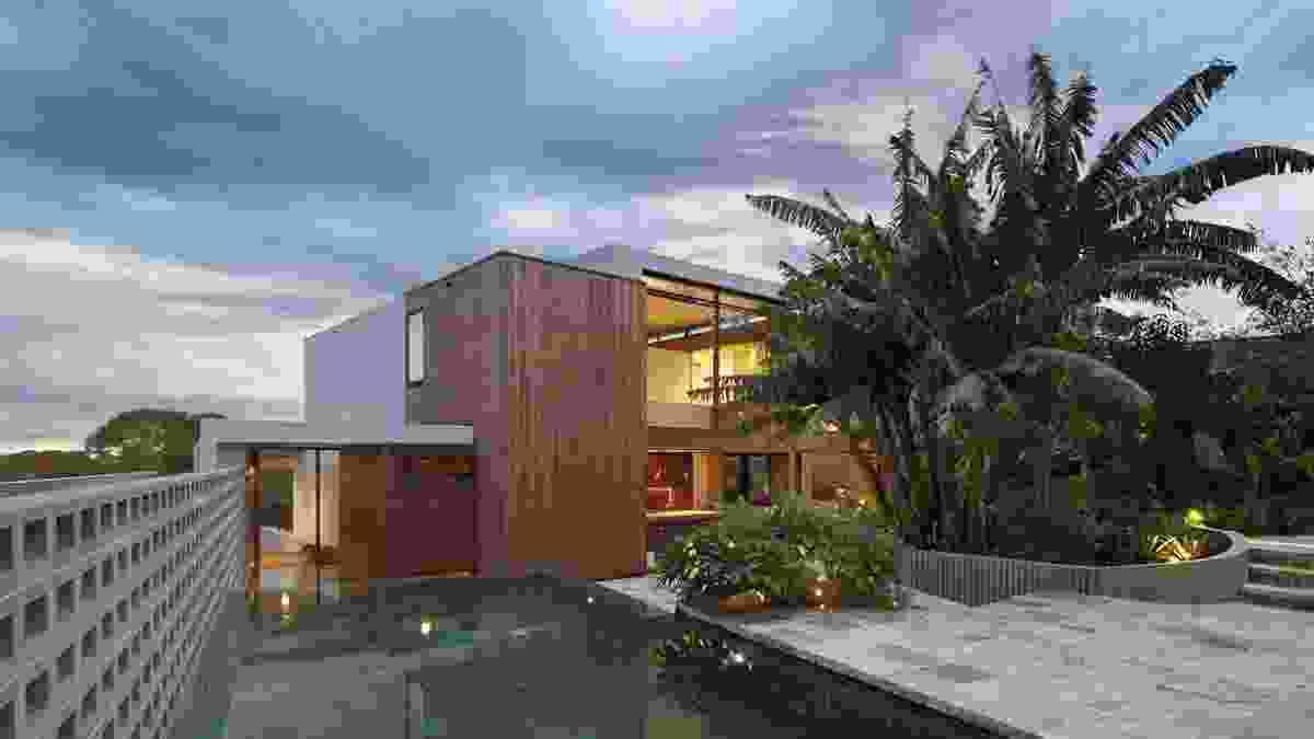 Flipped House by Marsh Cashman Koolloos Architects.