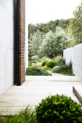Brett Robinson of Acre Landscape Architecture Studio won Best in Category in Landscape Design - Rural or Coastal.