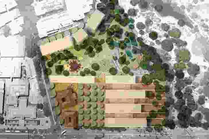 Oculus (NSW): Provides generous extension to parklands and enhances relationship to university campus.