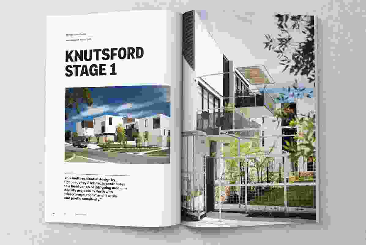 Knutsford Stage 1 designed by Spaceagency Architects.