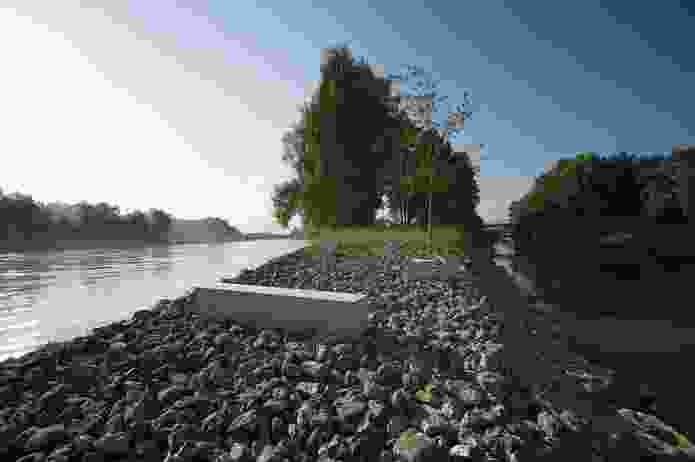 Mangfallpark in Rosenheim, Germany, by A24 Landschaft.