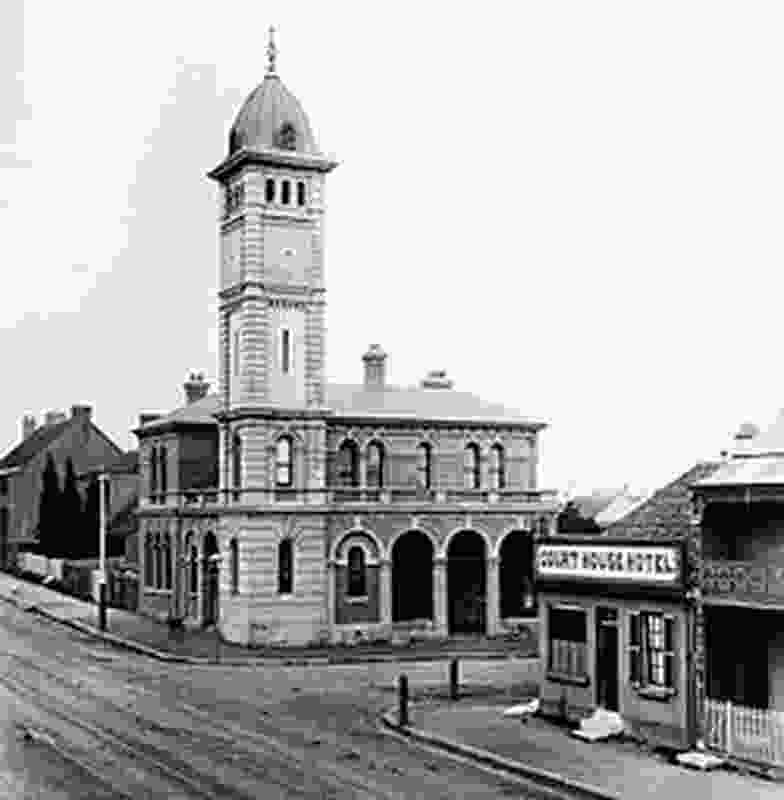 Redfern Post Office circa 1890s.