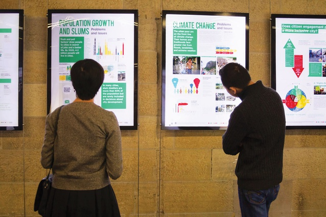 The exhibition consisted of A1 panels, film material and an interactive website.