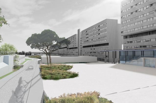 Regenerere Corviale by Laura Peretti Architects (Italy).