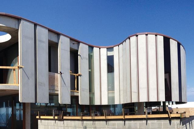Light House by Peter Stutchbury Architecture under construction.