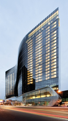 Crown Metropol by Bates Smart 13; 500 Bourke Street Redevelopment by John Wardle Architects.