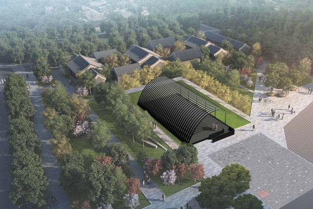Serpentine Pavilion Beijing by Jiakun Architects.