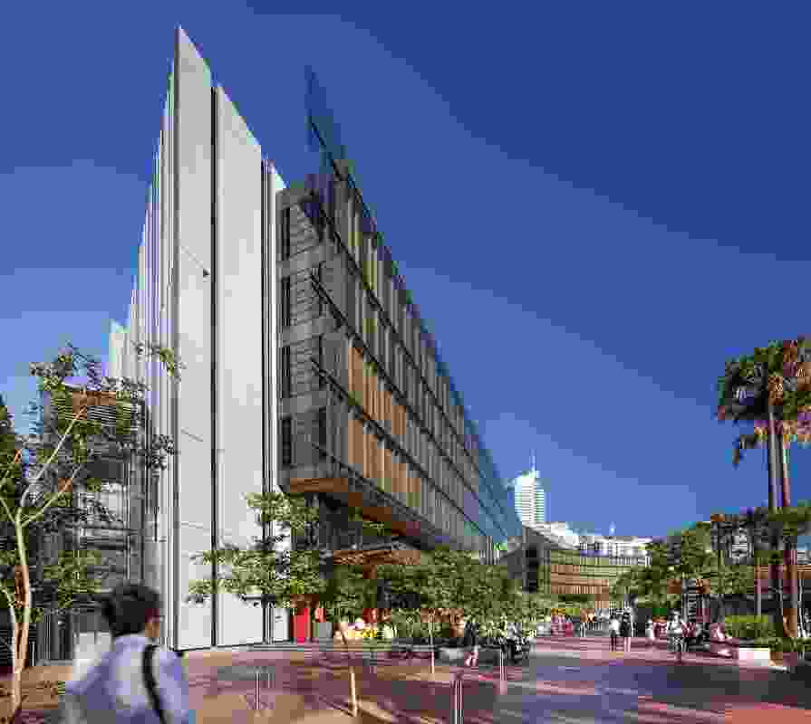 2013 entry, Urban Design: Darling Quarter by Francis-Jones Morehen Thorp (FJMT) with Aspect studios and Lend Lease