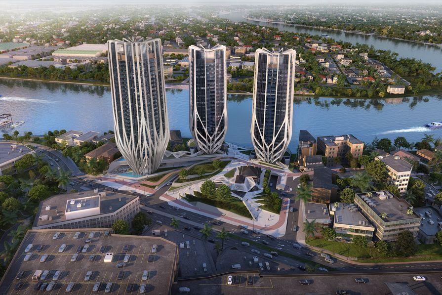 Brisbane's proposed Grace on Coronation development designed by Zaha Hadid Architects.
