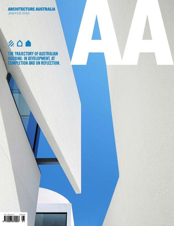 Architecture Australia, January 2016