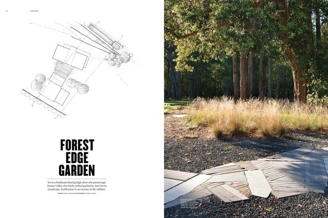 Forest Edge Garden by Jane Irwin Landscape Architecture.