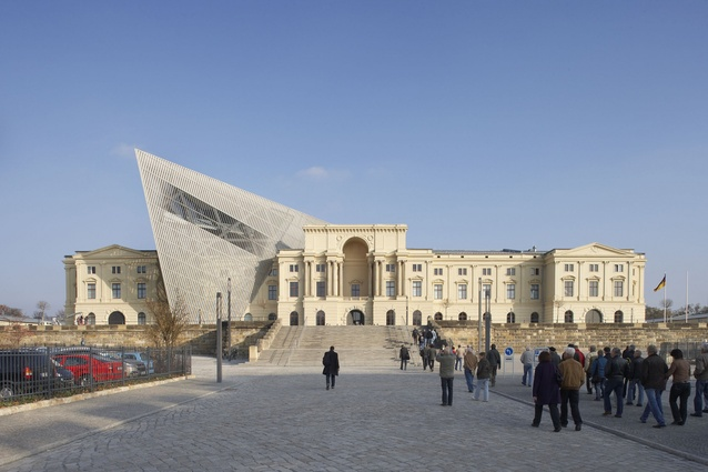 Military History Museum by Studio Daniel Libeskind.