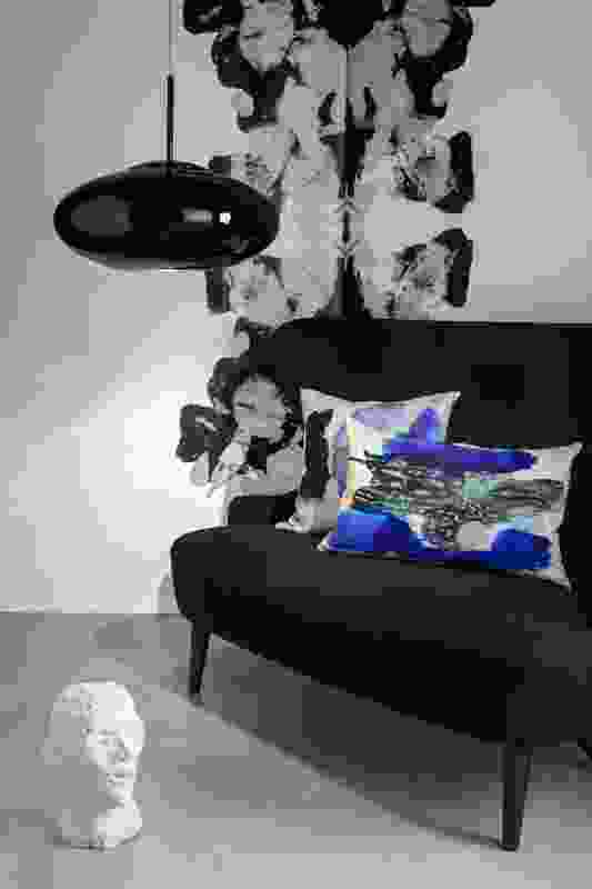 Blot cushions by Tom Dixon.