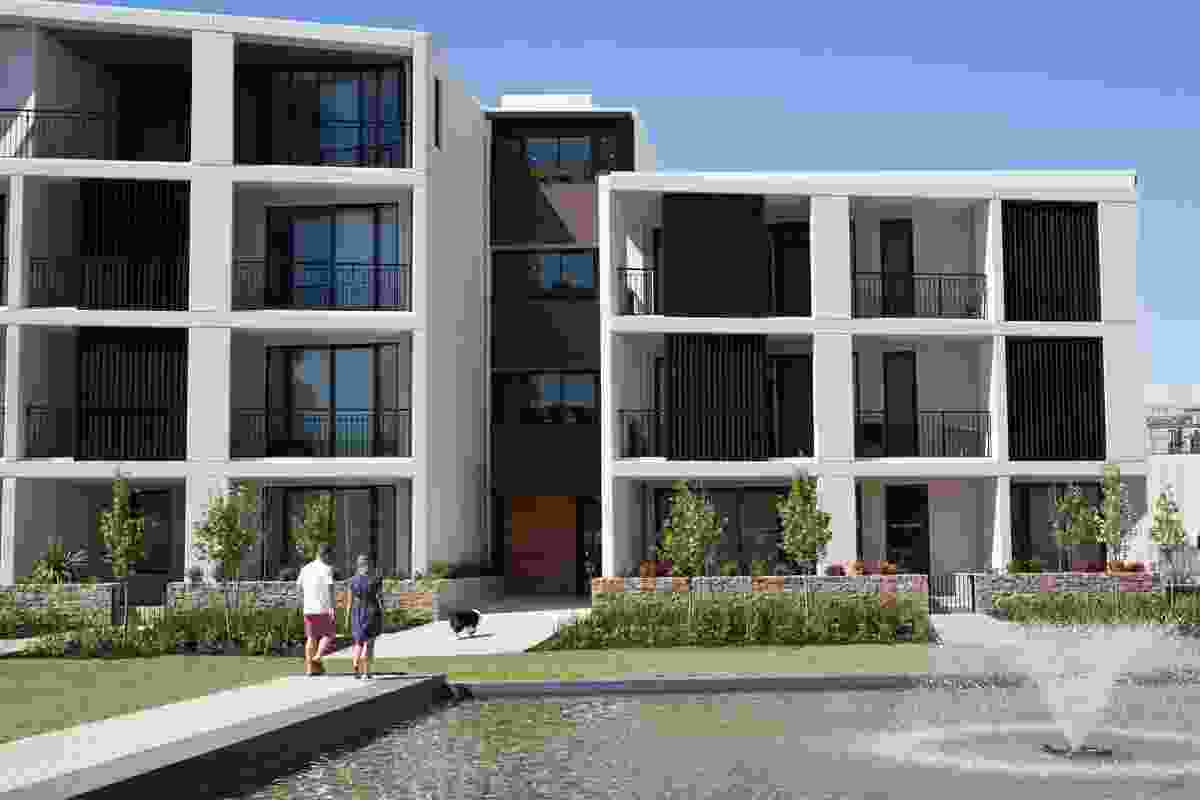 Ivy Apartments, West by Davis and Davis Architects.