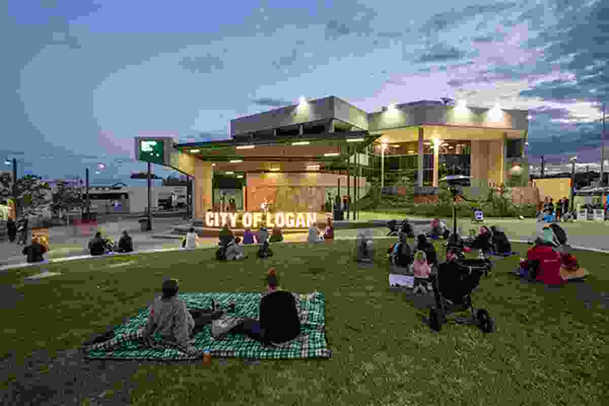 Beenleigh Town Square by Logan City Council, AECOM, MRCagney and Wilson Architects