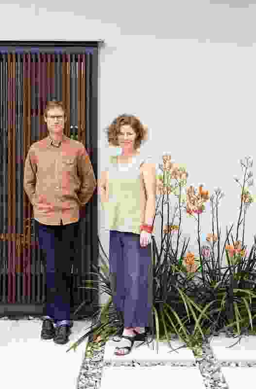 Chris Bligh and Sonia Graham of Bligh Graham Architects.