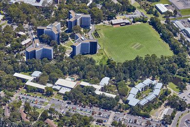 The University of Newcastle's Callaghan campus.