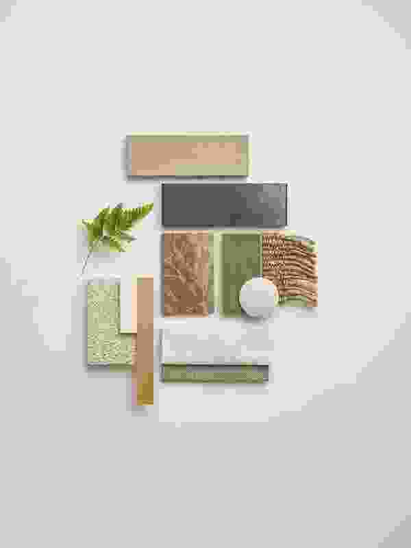 Fresh Neutrals interior palette.