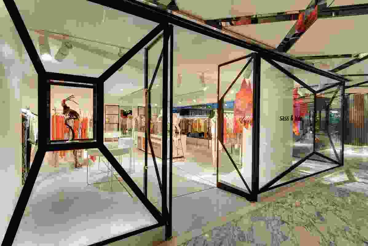 Retail Design – Sass & Bide by Akin Creative.