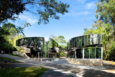 Cairns Botanic Gardens Visitor Centre by Charles Wright Architects.