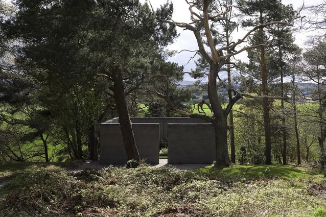 In Memory at Jupiter Artland, Bonnington House, Scotland (2010).