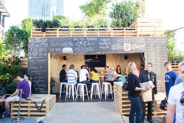 Urban Coffee Farm and Brew Bar by Hassell.