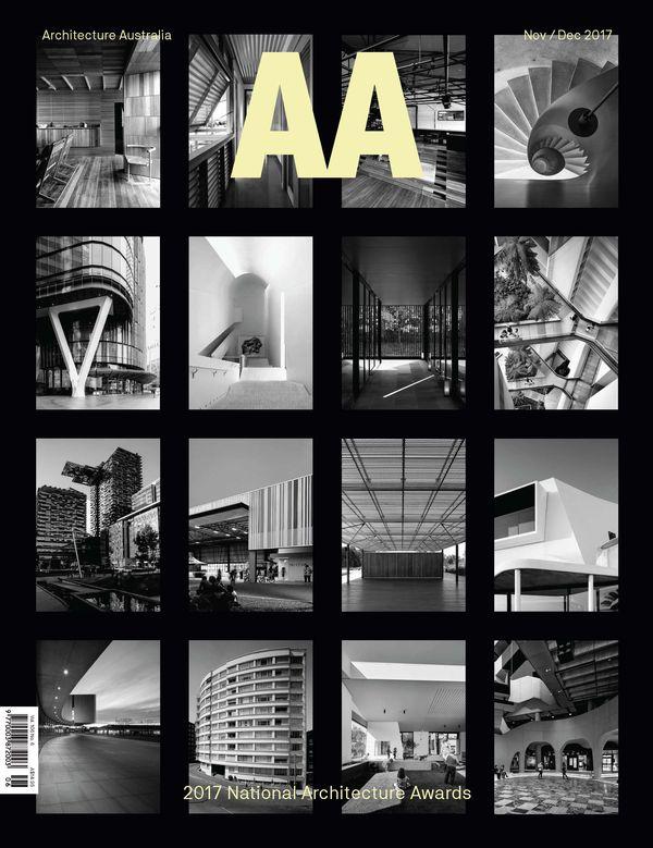 Architecture Australia, November 2017