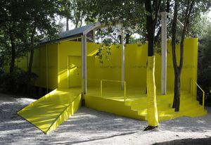 The current pavilion in Venice.
