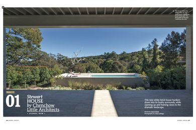 Houses 90 preview: Stewart House by Chenshow Little Architects.