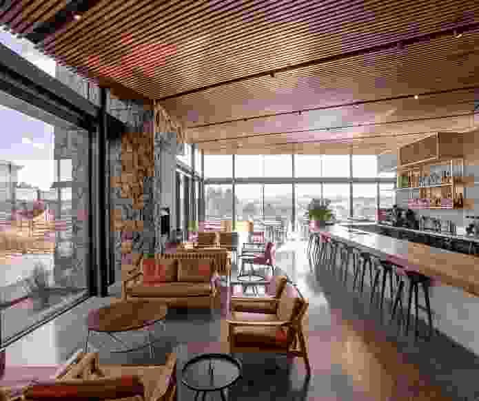 The Glasshouse at Goonoo Goonoo Station by TKD Architects.