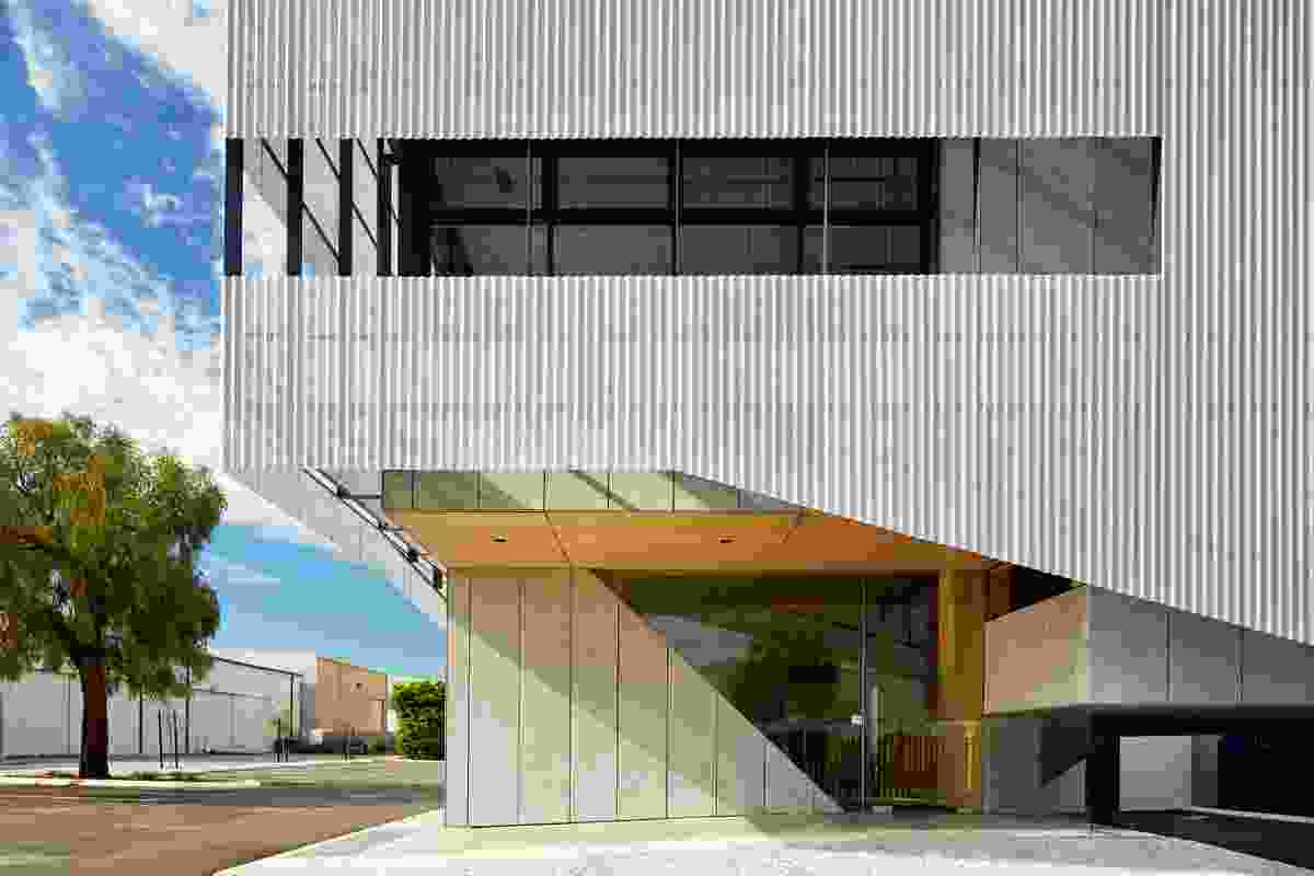 Sanwell Office Building by Braham Architects.