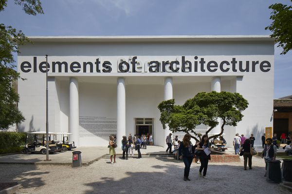 The Central Pavilion at the Giardini in Venice feature the 2014 exhibition Elements of Architecture, curated by Rem Koolhaas.