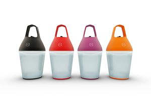 The O'Sun Nomad solar rechargeable lamp by Alain Gilles.