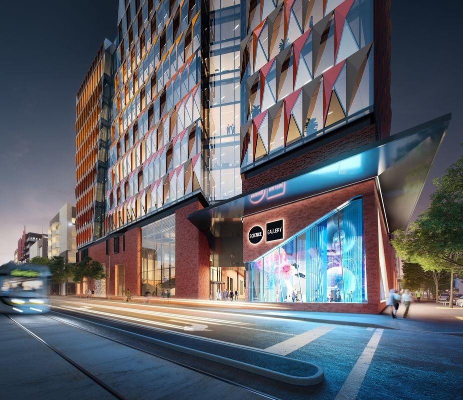 woods bagot designed innovation precinct for melbourne uni rh architectureau com