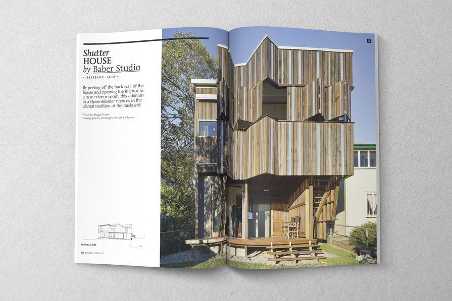 Shutter House by Baber Studio.