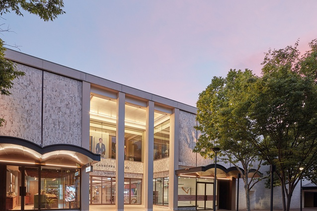 Canberra Centre's Monaro Mall, which opened in 1963, has been revitalized as an inviting and contemporary civic precinct.